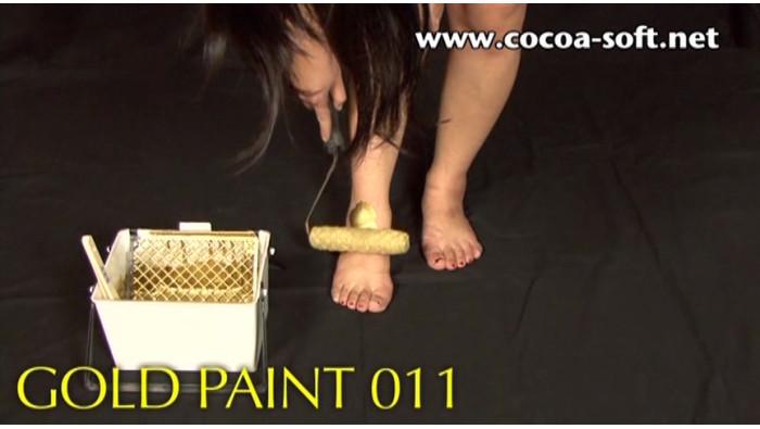 GOLD PAINT 011