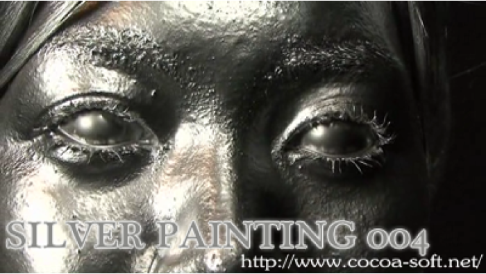 SILVER PAINTING 004