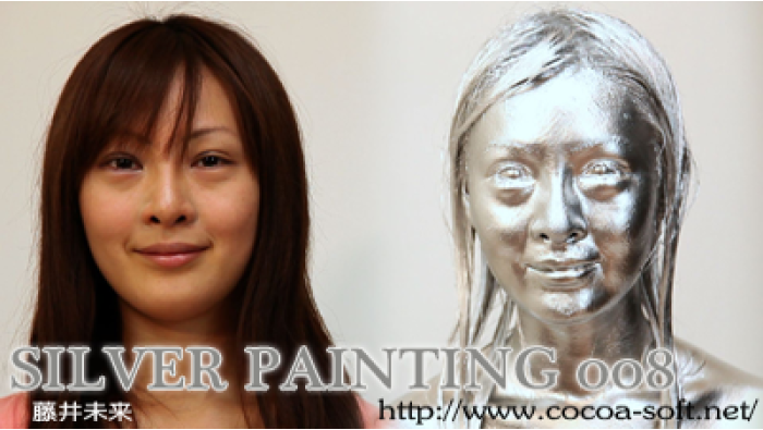 SILVER PAINTING 008