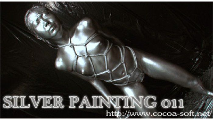 SILVER PAINTING 011